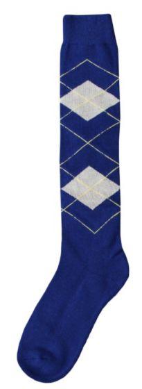 Hofman Knee Socks RE 35/38 Navy/Beige