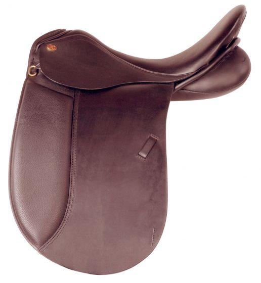 Imperial Riding Dressage sheepskin saddle pad JC Saphir smooth
