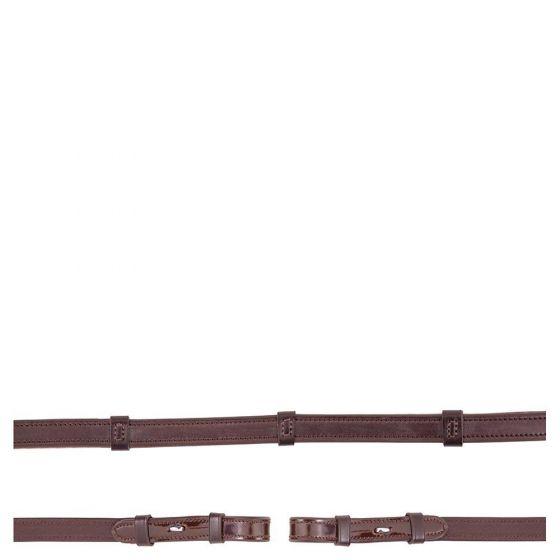 BR Rein Anti-slip patent leather 16mm blind
