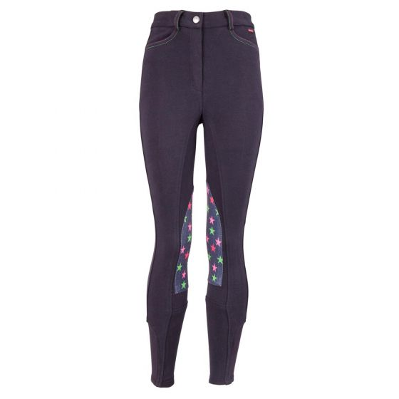 Premiere Riding breeches Gerbera children fabric knee patches