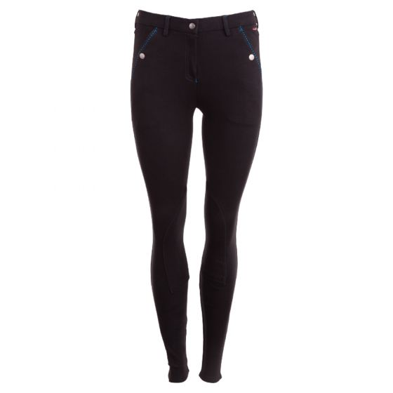 Premiere riding breeches Cornflower ladies fabric knee patches