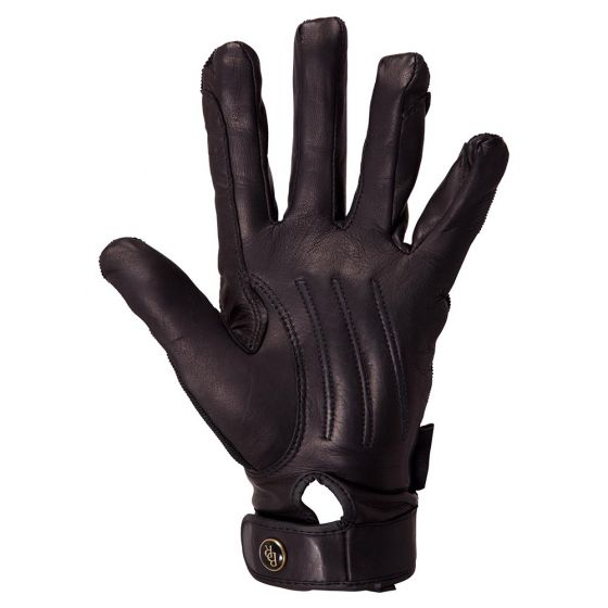 BR Riding gloves Comfort Pro Spandex top leather palm