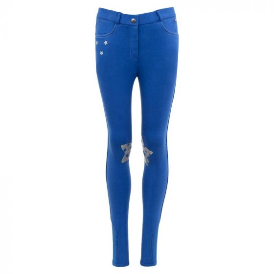 Premiere Riding breeches Blue Bell children silicone knee patches