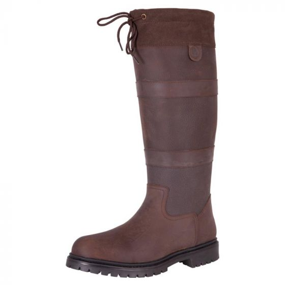 BR Country nubuck outdoor riding boot straps