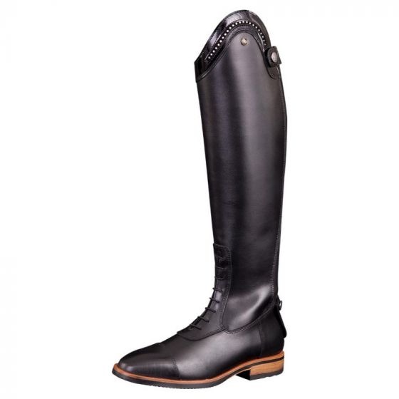BR Riding riding boot straps Venetia wide shaft