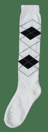 Excellent Knee socks RE b.white / black 43-46