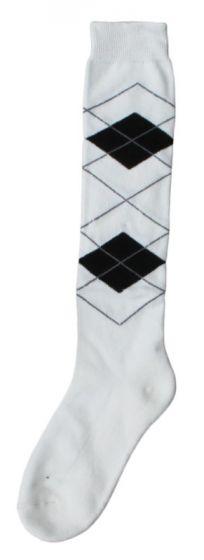 Hofman Knee Socks RE 39/42 White/Black