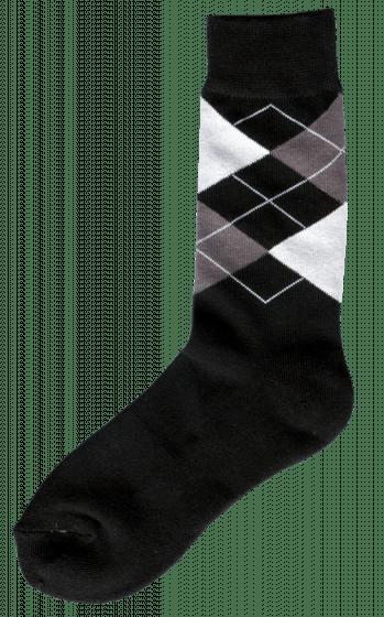 Excellent Riding sock black / gray / white 43-46