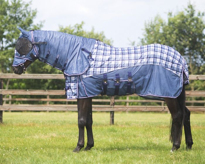 QHP Anti-fly sheet with neck and hood collection