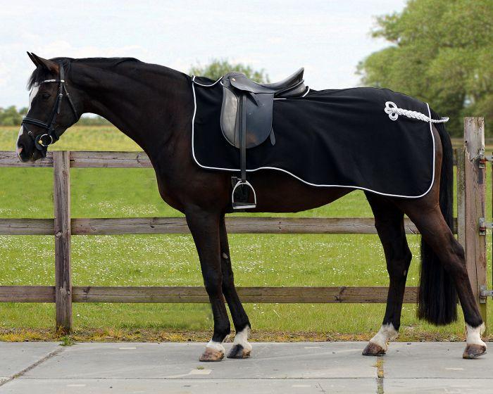 QHP Exercise sheet fleece ornament