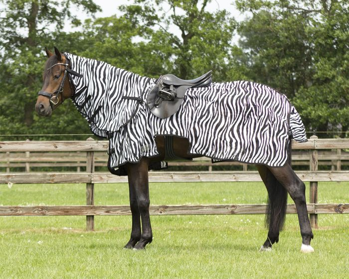 QHP Fly exercise rug with neck