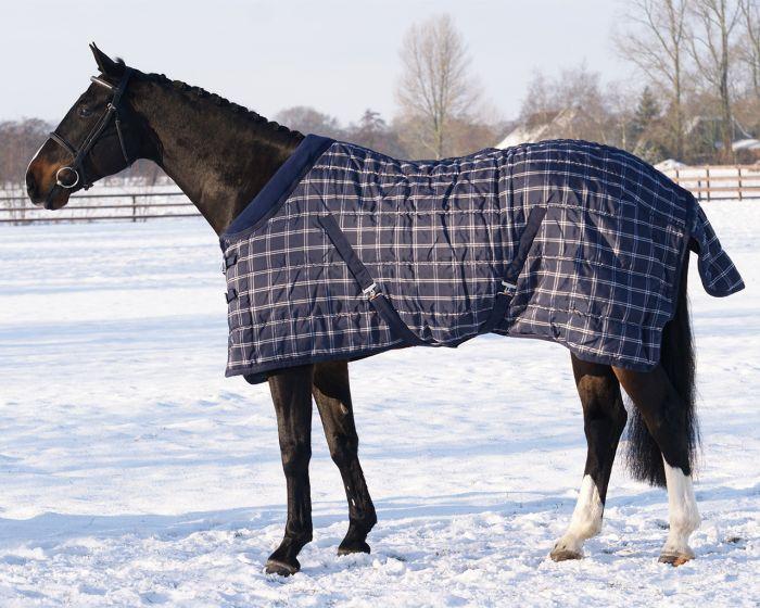 QHP Stable rug luxury with fleece collar