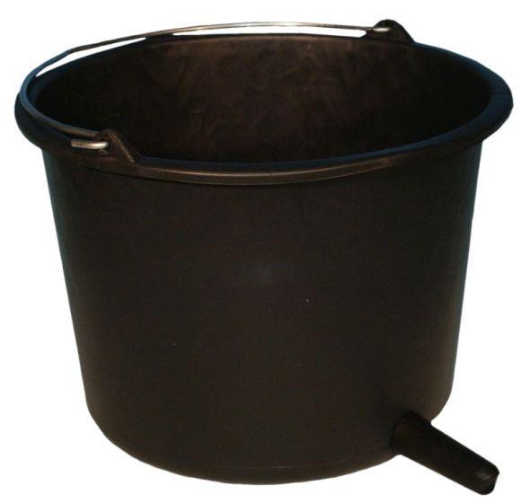 Hofman Calf Bucket round + black teat 80mm