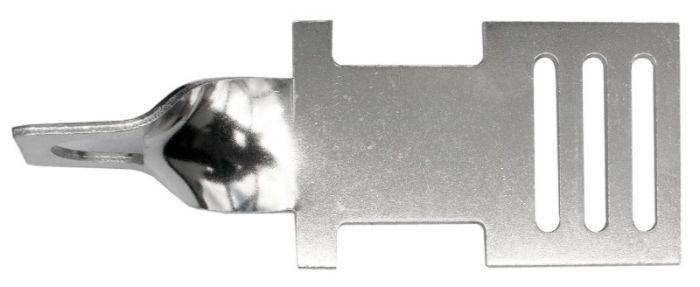 Hofman Ribbon starting and endplate aluminum