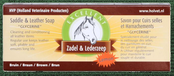 Excellent Saddle soap Excellent bar 280gr Lemon
