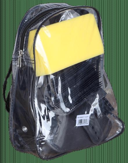 Hofman Brush set in backpack