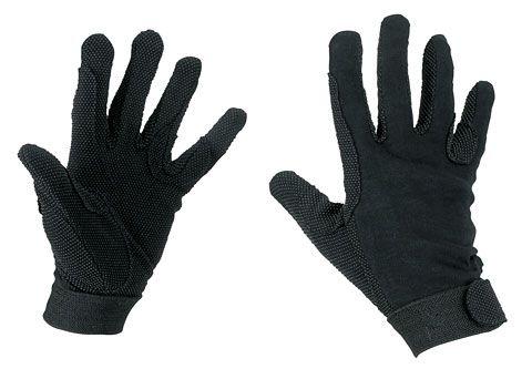 Hofman Riding Gloves Cotton Black XS