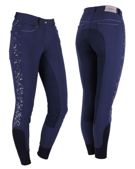 QHP Breeches Milah synthetic leather seat