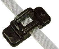 Hofman Insulator Ribbon / cord / wire Black to 20 mm