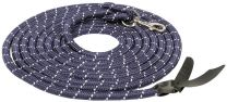 Harry's Horse Leadhead-head-rope 6.8m snap hook navy