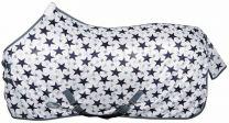 Harrys Horse Fly Rug White Star
