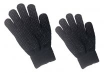 Hofman Riding Glove Magic Grippy Black Kids