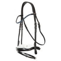 BR Bridle Newcastle double anatom.full nose band