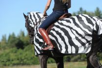 Bucas  Buzz-Off Riding Zebra, 145/L