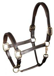 Harry's Horse Head collar leather, bridoonded