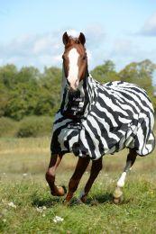 Bucas  Buzz-off Zebra Full Neck Big Neck, 155