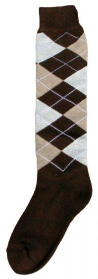 Hofman Knee Socks RE 43/46 Dark Brown