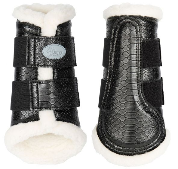 Harry's Horse Protection riding boot straps Flextrainer Snake