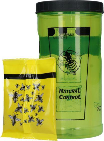 """Hofman Wasp trap UNIQUE incl attractant """"Natural Control"""""""