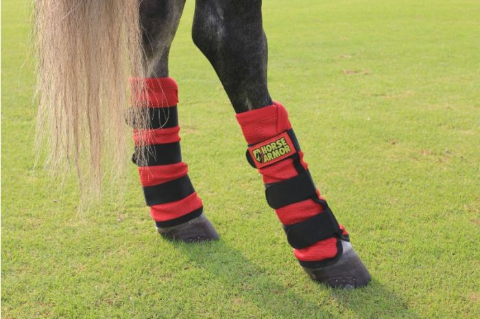 Hofman Horse Armor knockdown leg protector one size (Insect shield)