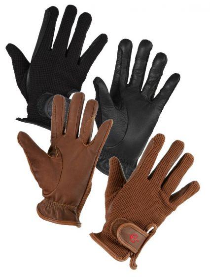 Hofman Riding Gloves Zico Brown M