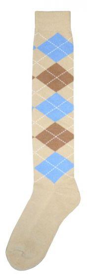 Hofman Knee Socks RE 43/46 Blue/Brown