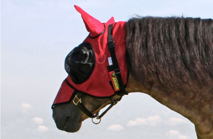 Hofman Horse Armor knockdown fly mask one size (Insect shield)
