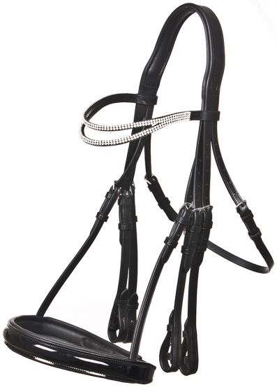 QHP Apollo Stang & Trens Bridle