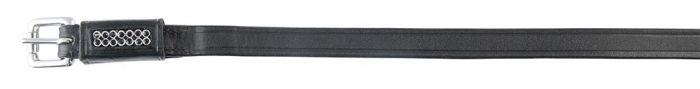 PFIFF Spur straps with rhinestones