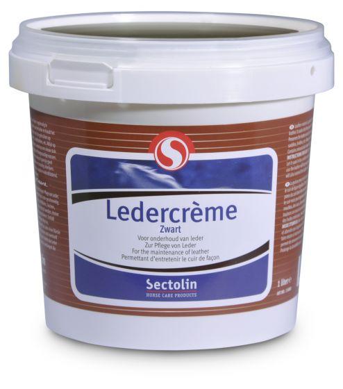 Sectolin Leather Cream Black