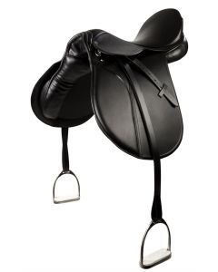 PFIFF All purpose sheepskin saddle pad 'Beauty' incl. stirrup-leather and stirrups