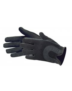 PFIFF Equestrian gloves synthetic leather/cotton