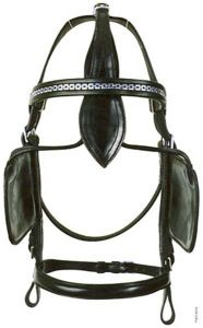 PFIFF Driving bridle with blinker 'Standard'