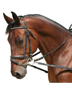 PFIFF Side reins without elastic insert