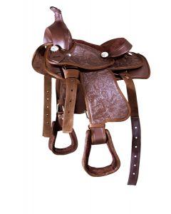 PFIFF Synthetic western sheepskin saddle pad