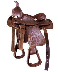 PFIFF Plastic western saddle