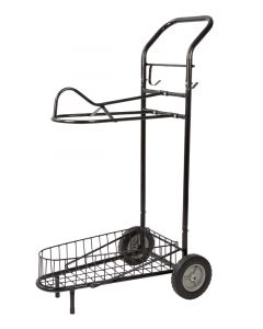 PFIFF sheepskin saddle pad trolley