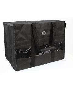 Bandage and brushing riding boot straps bag
