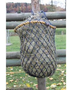 PFIFF hay net with solid ring