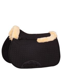 BR Saddle cloth sheepskin VZ with edge and channel
